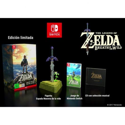 Legend Of Zelda Breath Of The Wild Nintendo Switch Edici 243 N