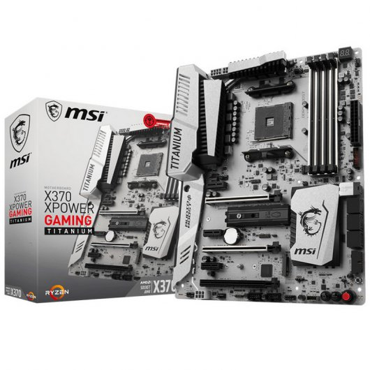 MSI X370 XPOWER Gaming Titanium Reacondicionado