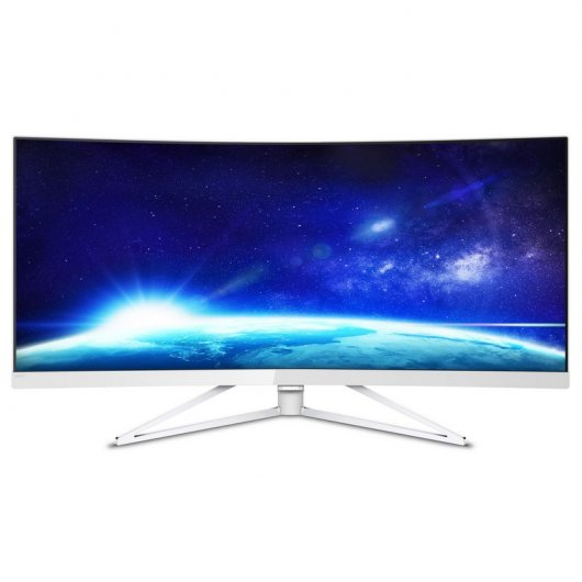 "Philips 349X7FJEW 34"" Quad HD LCD FreeSync Curvo"