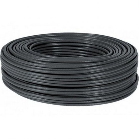 Bobina Cable UTP Cat 5e 305 Mts Negro