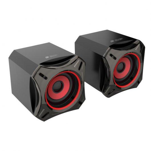 Owlotech gaming m8 2 0 speaker system altavoces 10w rms - Redes para colgar altavoces ...