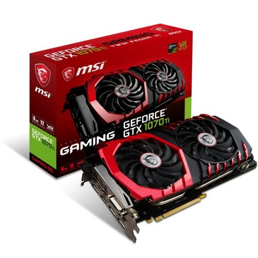 MSI GeForce GTX 1070 Ti GAMING 8 GB GDDR5