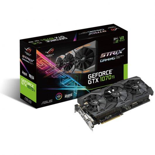 Asus ROG Strix Geforce GTX 1070 Ti Gaming Advance 8GB GDDR5