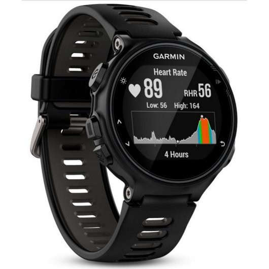Garmin Forerunner 735XT Reloj Deportivo Negro/Gris