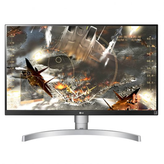 "LG 27UK650-W 27"" IPS LED Ultra HD 4K"