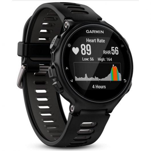 Garmin Forerunner 735XT Reloj Deportivo Negro/Gris Reacondicionado