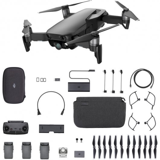 Drone DJI Mavic Air Combo Negro Onyx