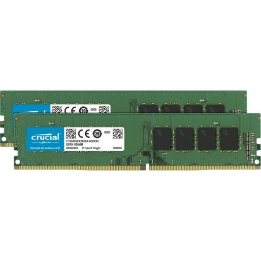 Memoria RAM Crucial DDR4 2400 PC4-19200 8GB 2x4GB CL17