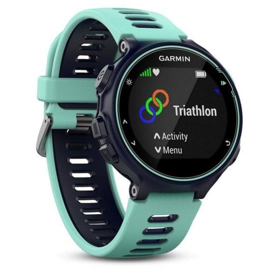 Garmin Forerunner 735XT Reloj Deportivo Azul Turquesa Reacondicionado