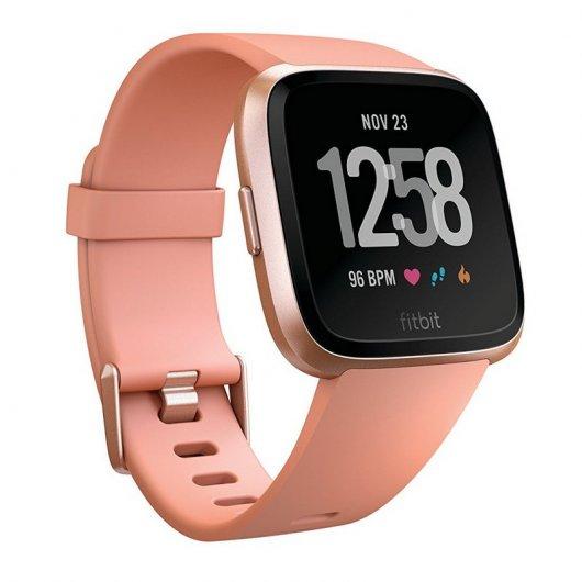 Fitbit Versa Melocotón/Aluminio Oro Rosa Reacondicionado