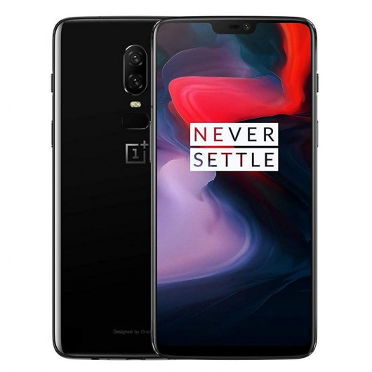 OnePlus 6 6/64GB Mirror Black Libre