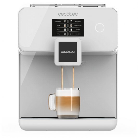 Cecotec Power Matic-ccino 8000 Touch Serie Bianca Cafetera Superautomática