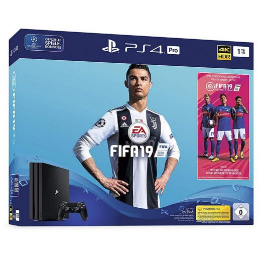 Sony PlayStation 4 Pro 1TB Chasis G + FIFA 19