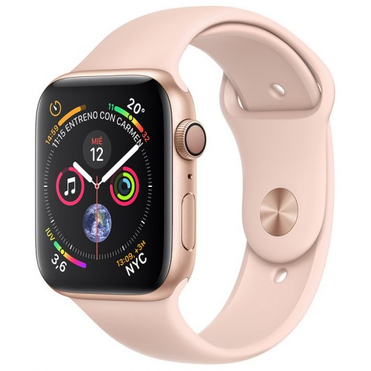 Apple Watch Series 4 GPS 40mm Aluminio Dorado con Correa Deportiva Rosa