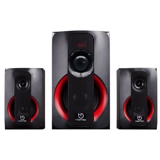 Hiditec H400 Altavoces 2.1 Bluetooth 80W