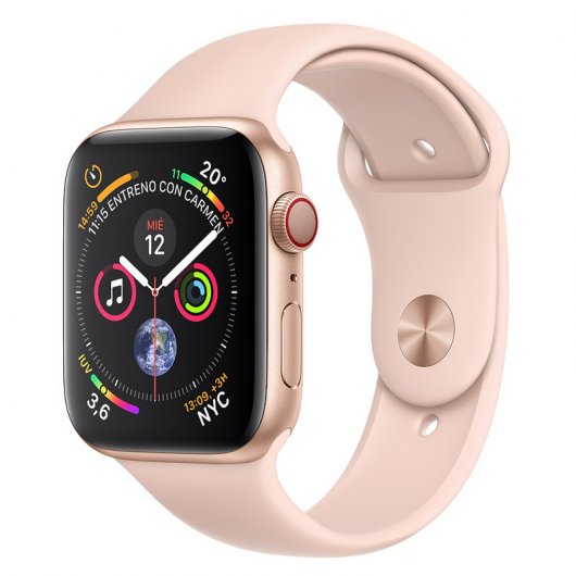 Apple Watch Series 4 GPS + Cellular 40mm Aluminio Dorado con Correa Deportiva Rosa Reacondicionado
