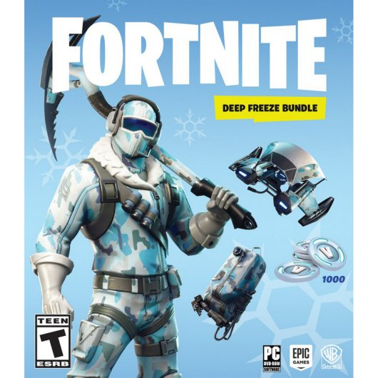 Fortnite: Lote de Criogenización PC