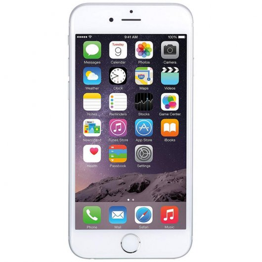 Apple iPhone 6 Plus 64Gb CKP Refurbished Plata Libre