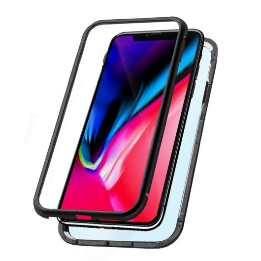 Ksix Magnetic Case Negra para iPhone XR