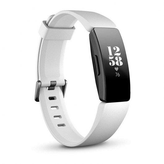 Fitbit Inspire HR Pulsera de Actividad Blanco/Negro
