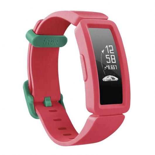 Fitbit Ace 2 Pulsera de Actividad para Niños Sandía/Turquesa