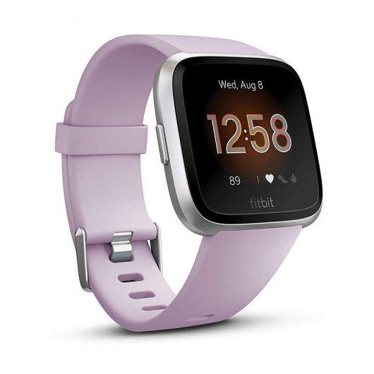 Fitbit Versa Lite Pulsera de Actividad Lila/Plata