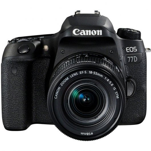 Canon EOS 77D 24.2MP WiFi + EF-S 18-55mm F3.5-5.6 IS STM