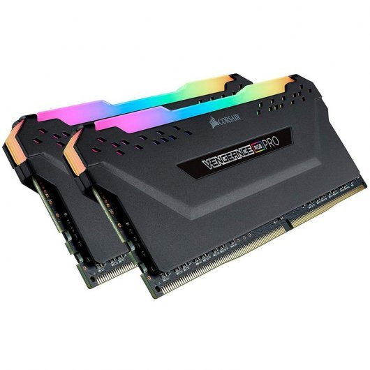 Corsair Vengeance RGB Pro DDR4 3200 PC4-25600 32GB 2x16GB CL16 Negra