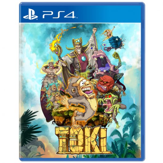 Toki Standard Edition PS4
