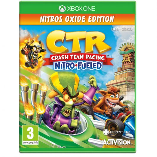 Crash Team Racing Nitro Fueled Ed. Nitros Oxide Xbox One