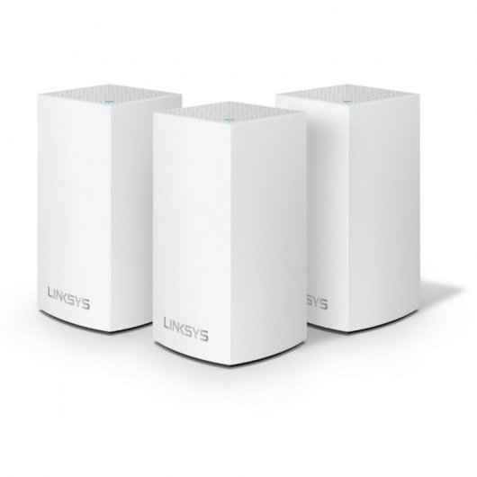 Linksys Velop Wifi Intelligent Mesh Dual Band AC3900 3 Nodos
