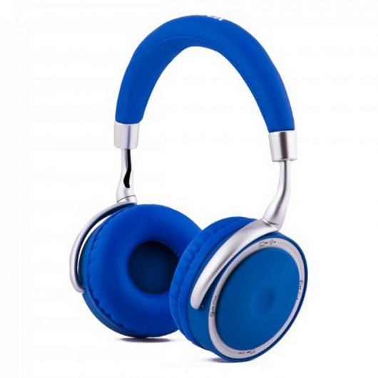 CoolBox CoolSkin Auriculares Bluetooth Azul