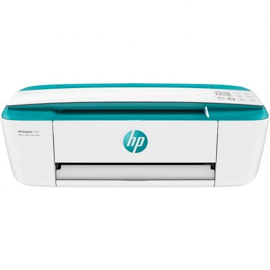 HP DeskJet 3762 Multifunción Color WiFi Verde