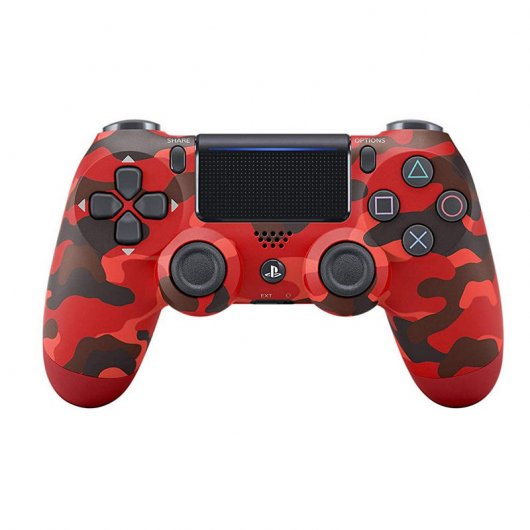 Sony Dualshock 4 Red Camouflage V2