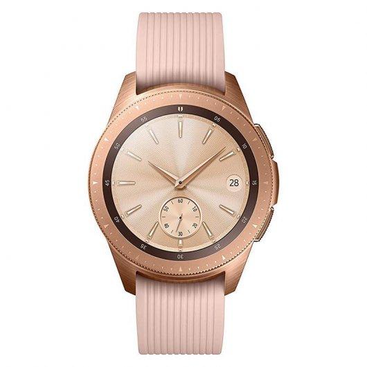 Samsung Galaxy Watch Reloj inteligente Bluetooth 42 mm Oro Rosa Versión Internacional Reacondicionado