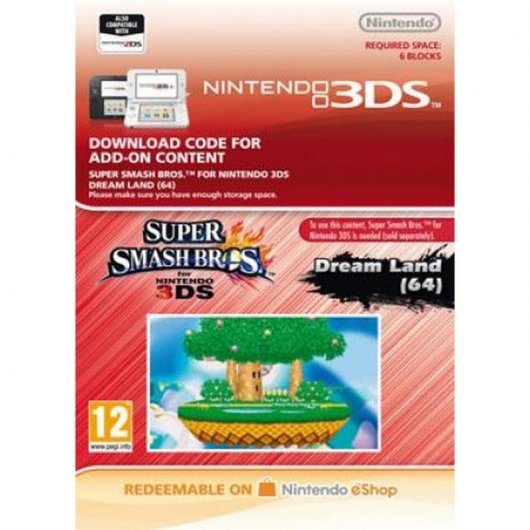 Super Smash Bros. AOC: Stage Dreamland Nintendo 3DS Nintendo eShop