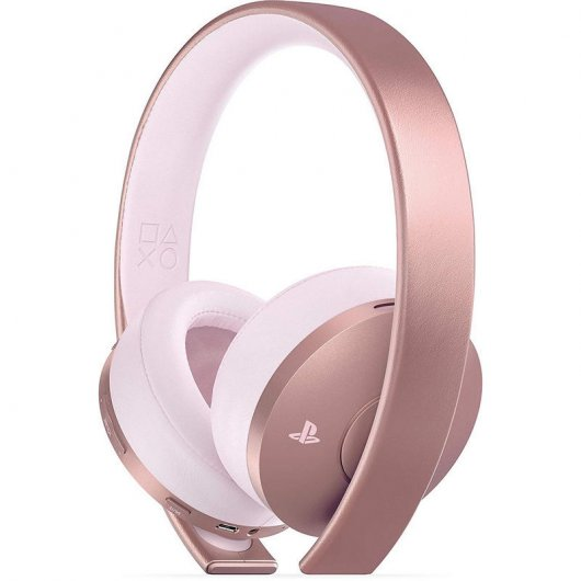 Sony Gold Auriculares Wireless 7.1 Oro Rosa para PS4/PC