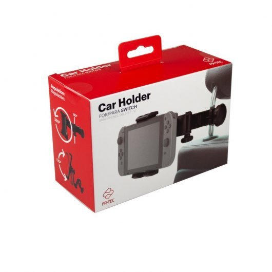 FR-TEC Switch Car Holder Soporte Reposacabezas de Coche para Nintendo Switch
