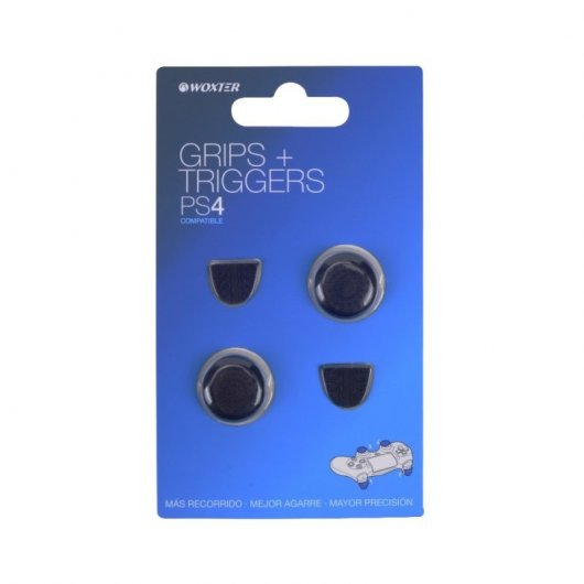 Woxter Grips + Triggers para PS4