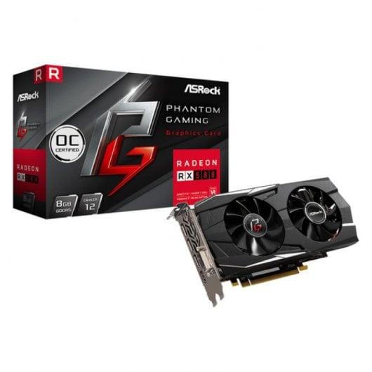 AsRock Phantom Gaming X Radeon RX580 OC 8GB GDDR5