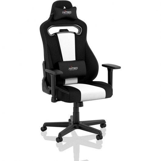 Nitro Concepts E250 Silla Gaming Negra/Blanco