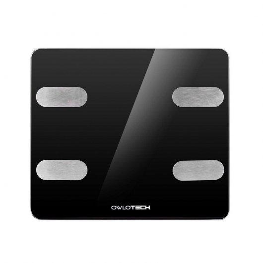 Owlotech Smart Scale Báscula de Bajo Inteligente