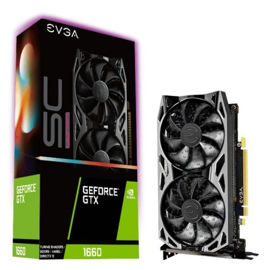 EVGA GeForce GTX 1660 SC Ultra Gaming 6GB GDDR5