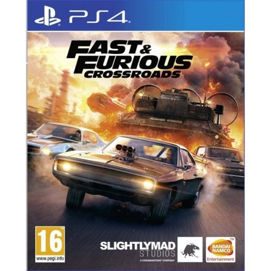 Fast & Furious Crossroads PS4