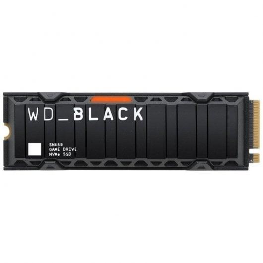 WD Black SN850 500GB SSD M.2 2280 3D NAND con Disipador Térmico