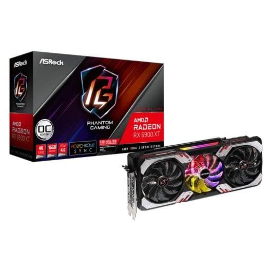 Asrock Radeon RX 6900 XT Phantom Gaming OC Edition 16GB GDDR6