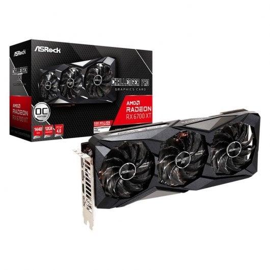 AsRock AMD Radeon RX 6700 XT Challenger Pro OC 12GB GDDR6