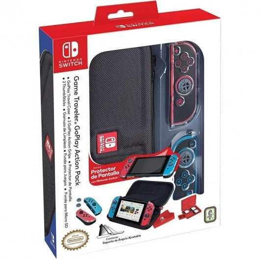 Ardistel NNS82 Travel Case Deluxe Negro para Nintendo Switch