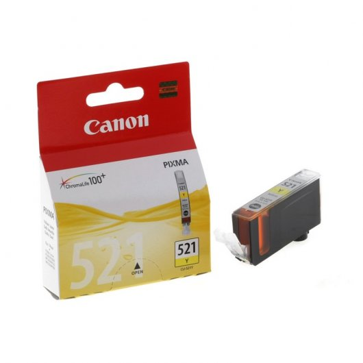 Canon CLI-521Y Pixma MP540/IP3600/MX860 Yellow