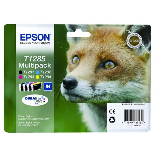 Epson T1285 Multipack Stylus S22/SX125